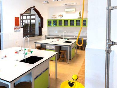 Das Naturwissenschaftliche Labor der IGS HCMC