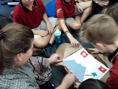 Brieffreundschaft Schweiz Vietnam IGS HCMC