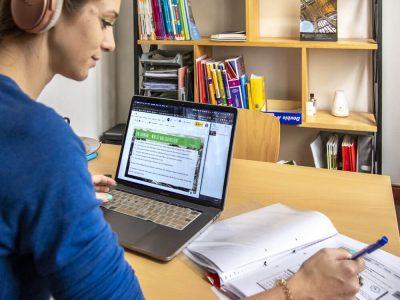 Online school because of Corona Virus week 1
