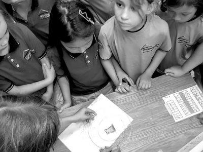 Präsentationsstunde in der Grundschule