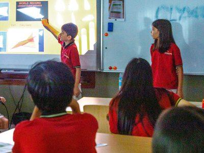 Präsentationstag an der IGS HCMC