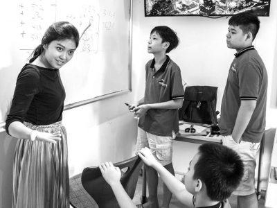 Projekttag an der IGS-HCMC