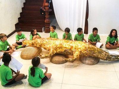 Rocco the crocodile mase by IGS HCMC, Grade1
