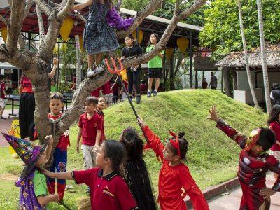 Halloween an der IGS-HCMC 2019