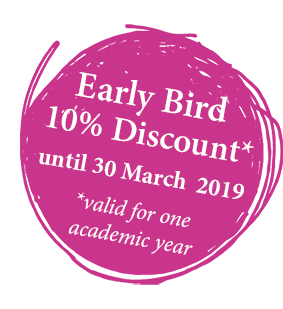 2019 early bird flyer bubble