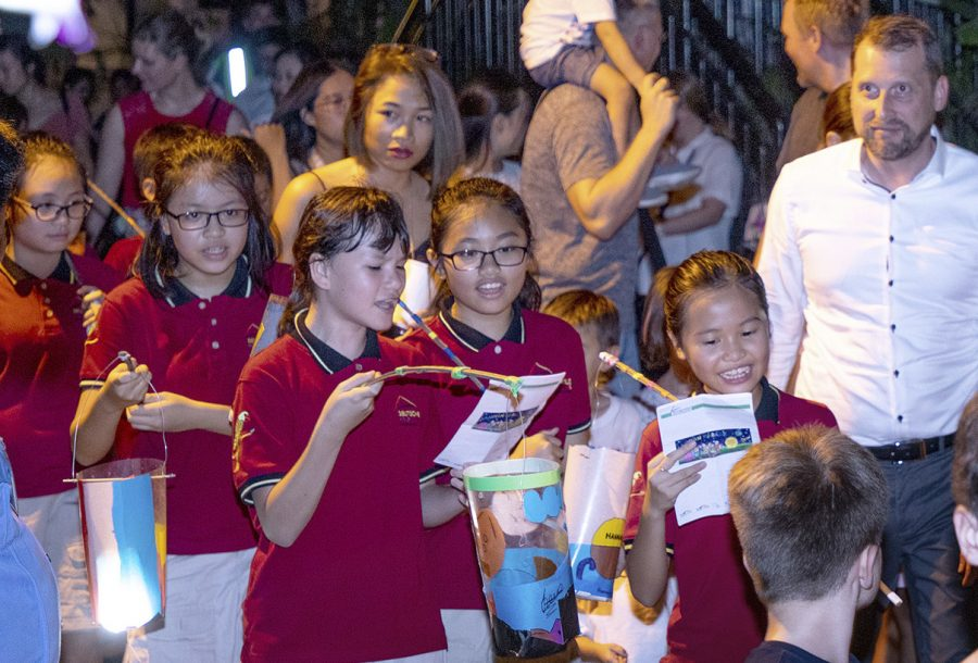St Martin, Lantern Parade IGS HCMC