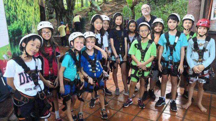 Schulausflug nach Madagui