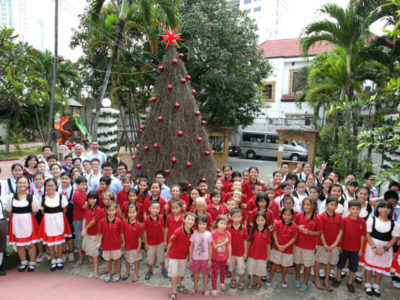 Gemeinsam mit den Pasch-Schulen: Nikolausfeier
