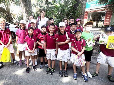 Auf Entdeckungstour im Schmetterlingshaus mit der IGS HCMC