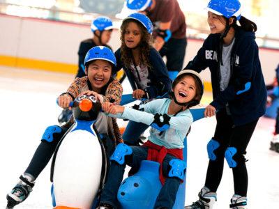 Ausflug von IGS Schülern ins Eisstadion