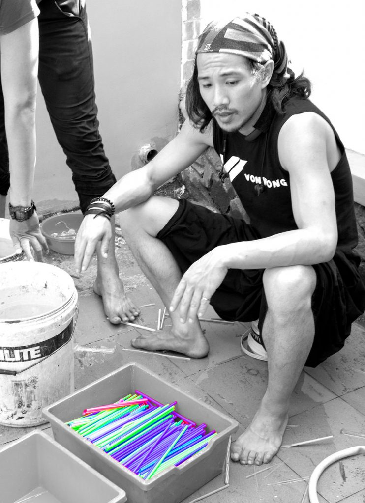 von wong zero waste saigon at IGS