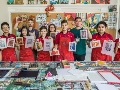 art class IGS HCMC