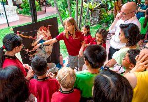 Schüler*innen der Deutschen Schule erklären EdTech