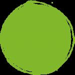 Gestaltungselement Bubble: grün
