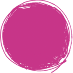 Gestaltungselement Bubble: lila