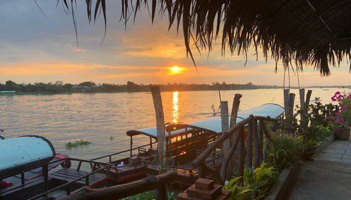 Classes 5-7 visiting the Mekong Delta