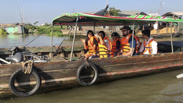 IGS Forschungsschiff Mekong Tag 2