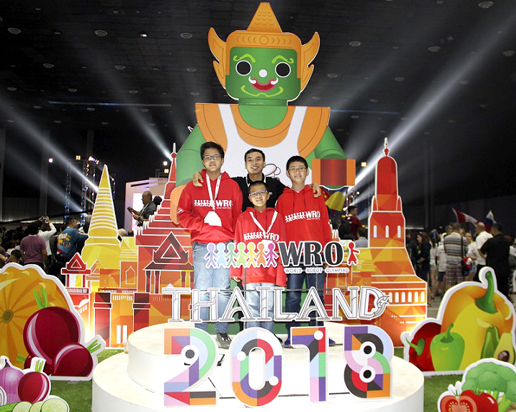 2018 World Robot Olympiad (WRO)
