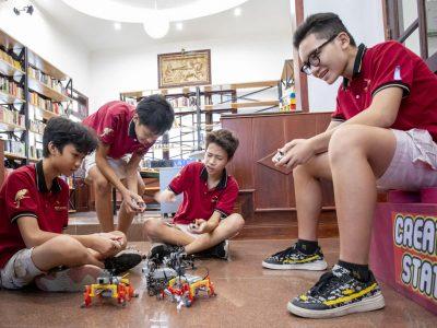 Lego Tag an der IGS-HCMC