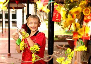 Vietnamesisches Neujahrsfest 2018 TET - Wunschbaum
