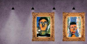Milan-Alex Portrait Kunstunterricht