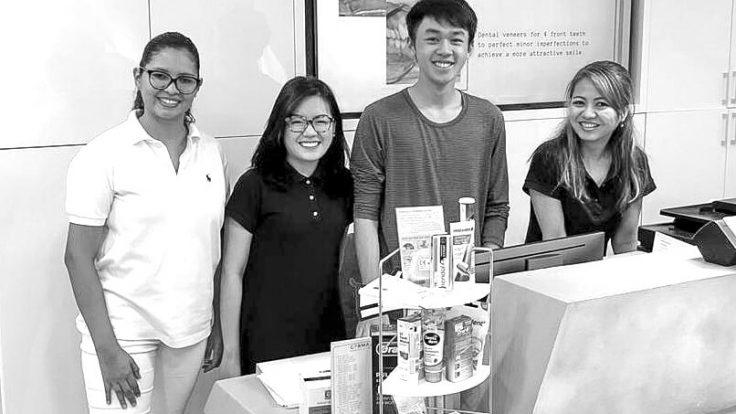 Schüler Praktikum der IGS HCMC
