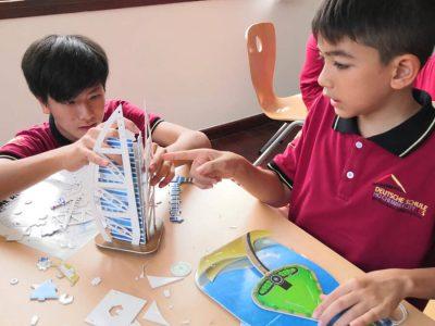 Ethikprojekt Puzzle an der IGS HCMC