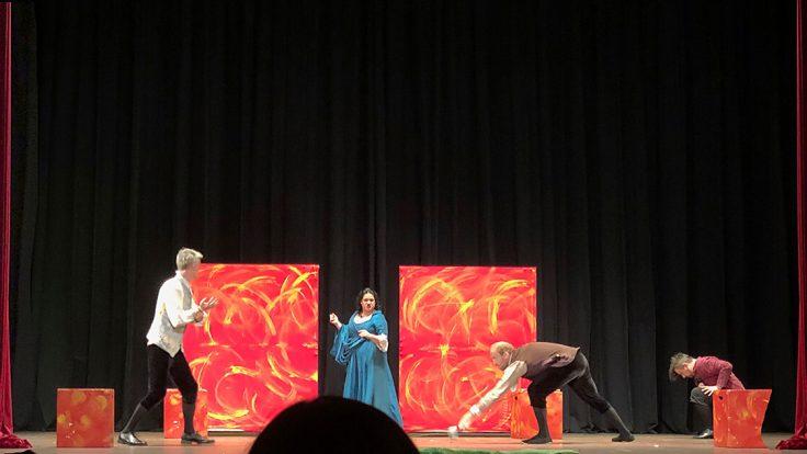 Romeo und Julia Aufführung im Opernhaus Saigon