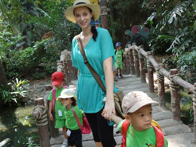 Kindertag: Ausflug in den Zoo