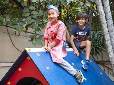U6 Tet Feier an der IGS HCMC