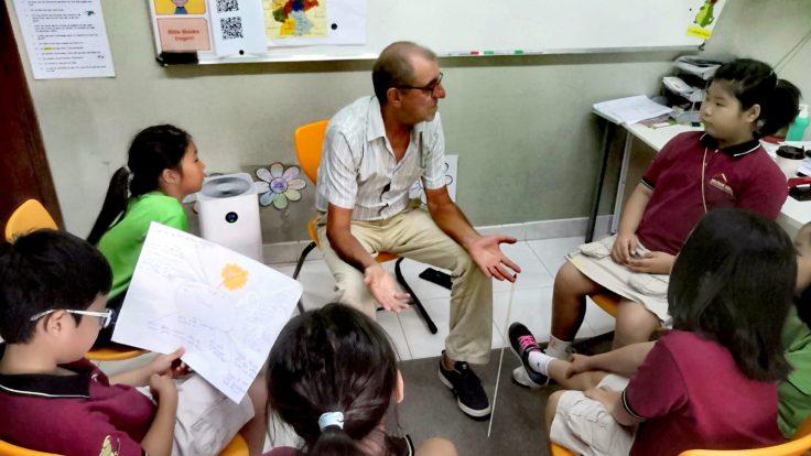 Untericht vor 50 Jahren; ein Lehrer erzählt IGS HCMC