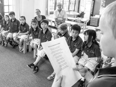 Vorlesetag an der IGS-HCMC