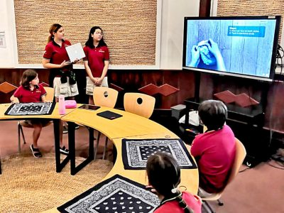 Ethikprojekt Masken bauen an der IGS HCMC