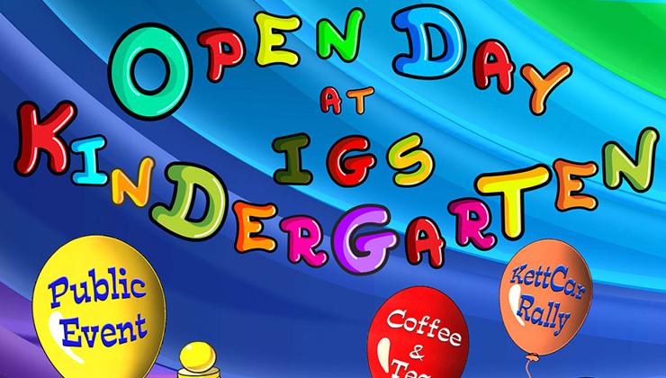 Merry-go-round-open day at IGS Kindergarten 2