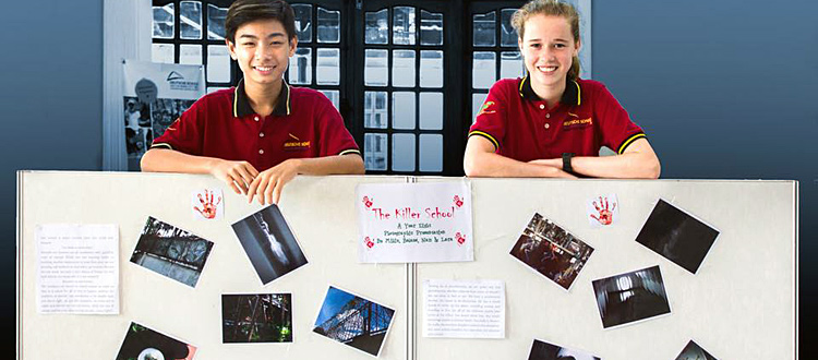 Ausstellung des Fotokurses