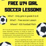 Girls Soccer Lessons