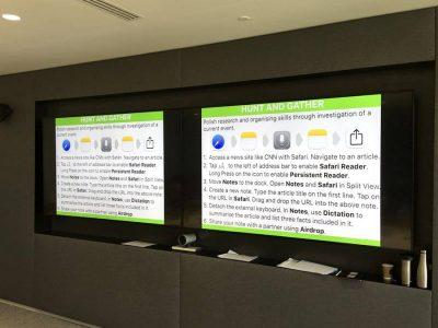 iPad Training im Deutschen Haus