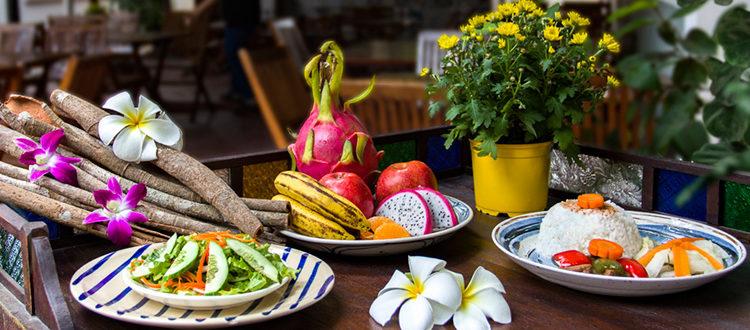 Schulessen an der IGS: Arrangement gesundes Essen