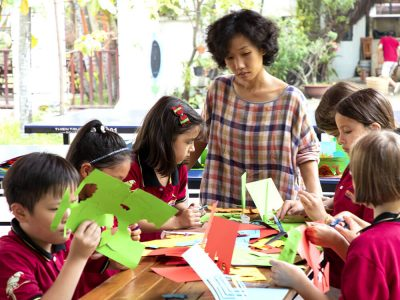 Kreativtag der Grundschule der IGS-HCMC