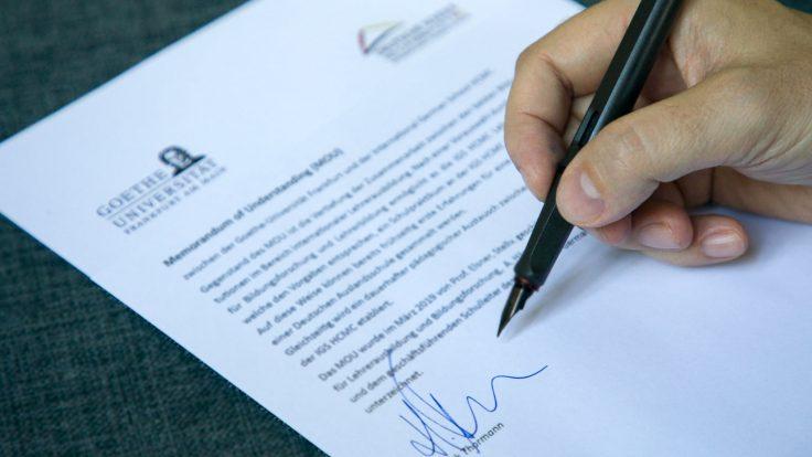 memorandum Goethe Universität IGS HCMC