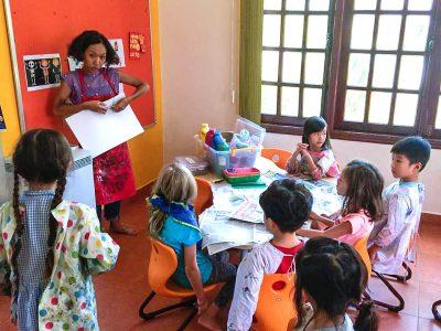 Kindergarten Kunstprojekt IGS HCMC