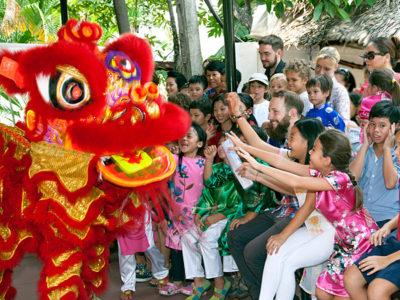 Vietnamesisches Neujahrsfest an der IGS
