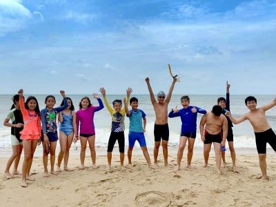 Schulausflug nach Vungg Tau IGS HCMC