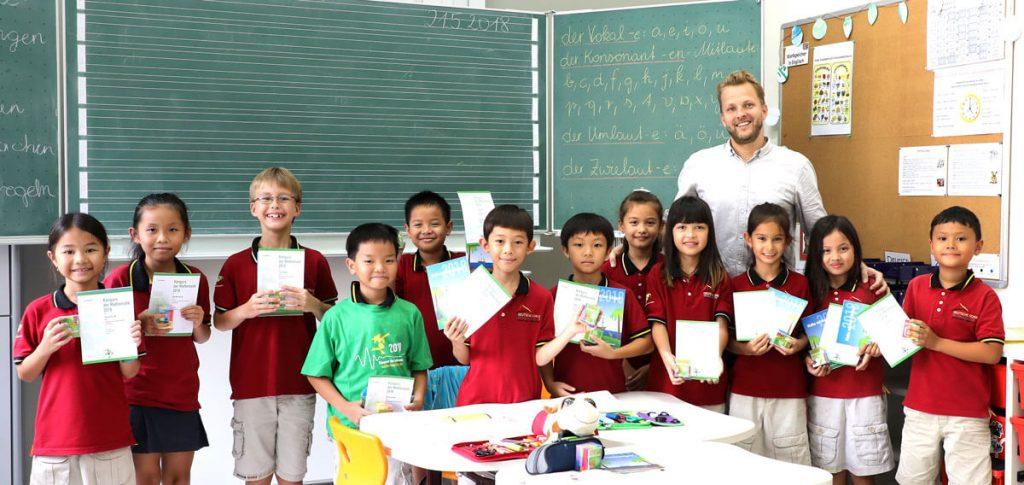 Verleihung der Urkunden - Känguru Mathematikwettbewerb